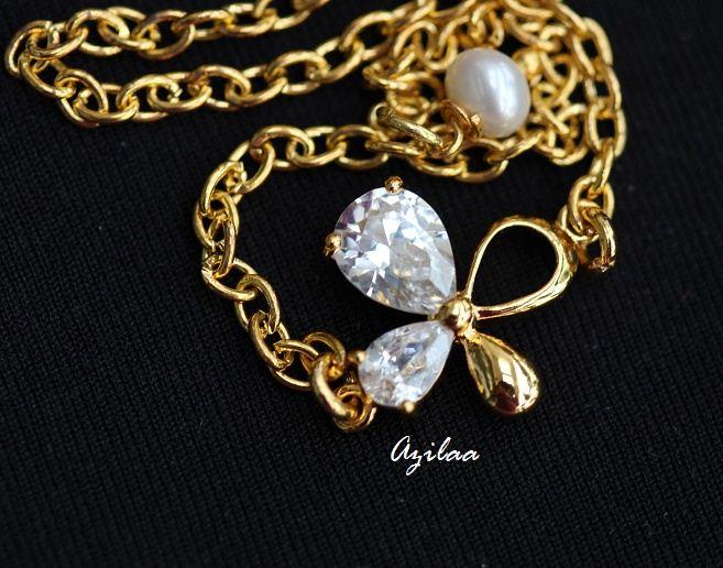 06708aa77c7 Flower Golden Bracelet vermeil Gold Bracelet Zircon bracelet at ...
